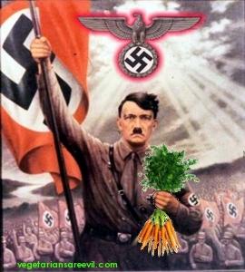 Hitler não era vegetariano